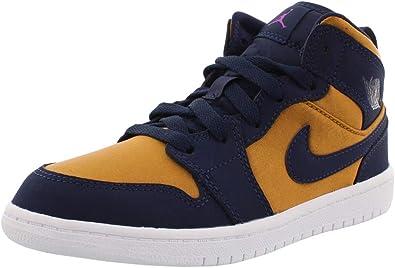 Amazon.com   Jordan 1 Mid SE Boys Shoes