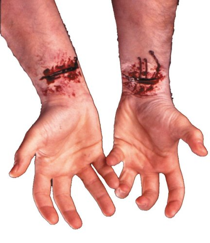 Cinema Secrets Slash Wound Prosthetic