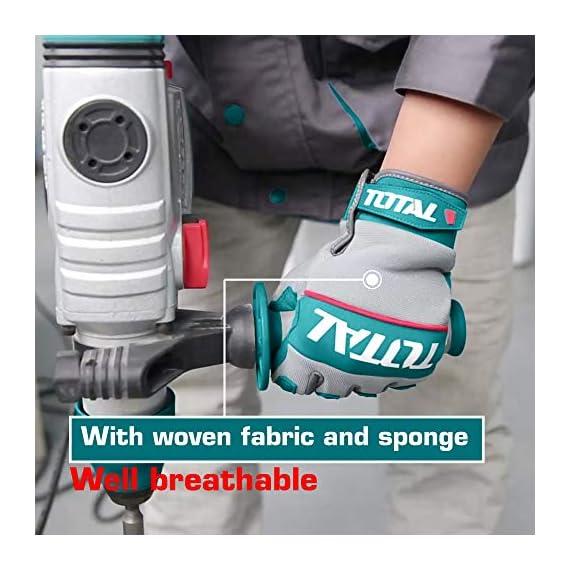 MR LIGHT TOTAL Mechanic Gloves (Multicolour) 5