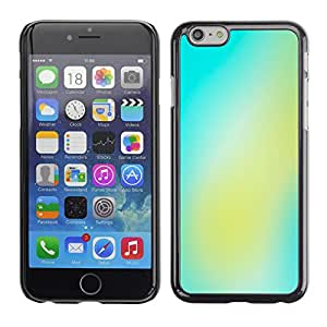 Planetar® ( Yellow Green Energy ) Apple iPhone 6 / 6S (4.7 inches!!!) Fundas Cover Cubre Hard Case Cover
