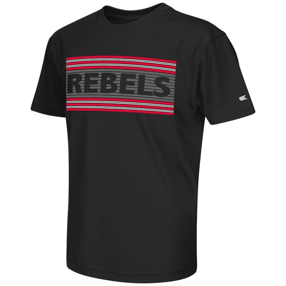 ユースOle Miss Rebels半袖Tシャツチームカラー B07CBDG9CH  Medium (12/14)