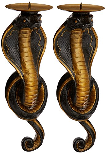 Design Toscano Renenutet Egyptian Cobra Goddess Wall Sconces