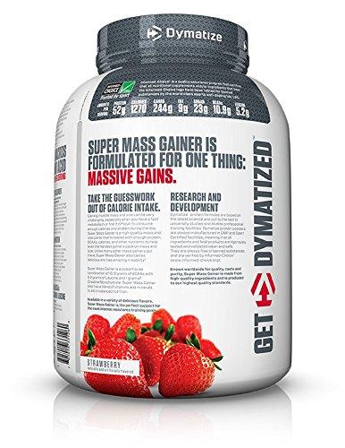 Dymatize Nutrition Super Mass Gainer Berry Cream 2722g ...