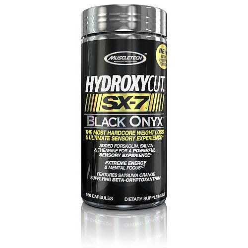 MuscleTech Hydroxycut Black Onyx caps product image
