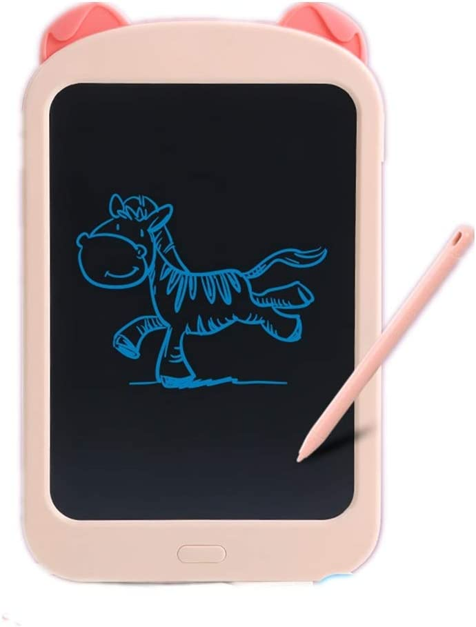 Color : Pink, Size : 10.5 inches JIANGXIUQIN LCD Board 10.5 Inches Childrens Writing Board Kid Drawing Board Intelligent LCD Graffiti Tablet Christmas Thanksgiving Gift