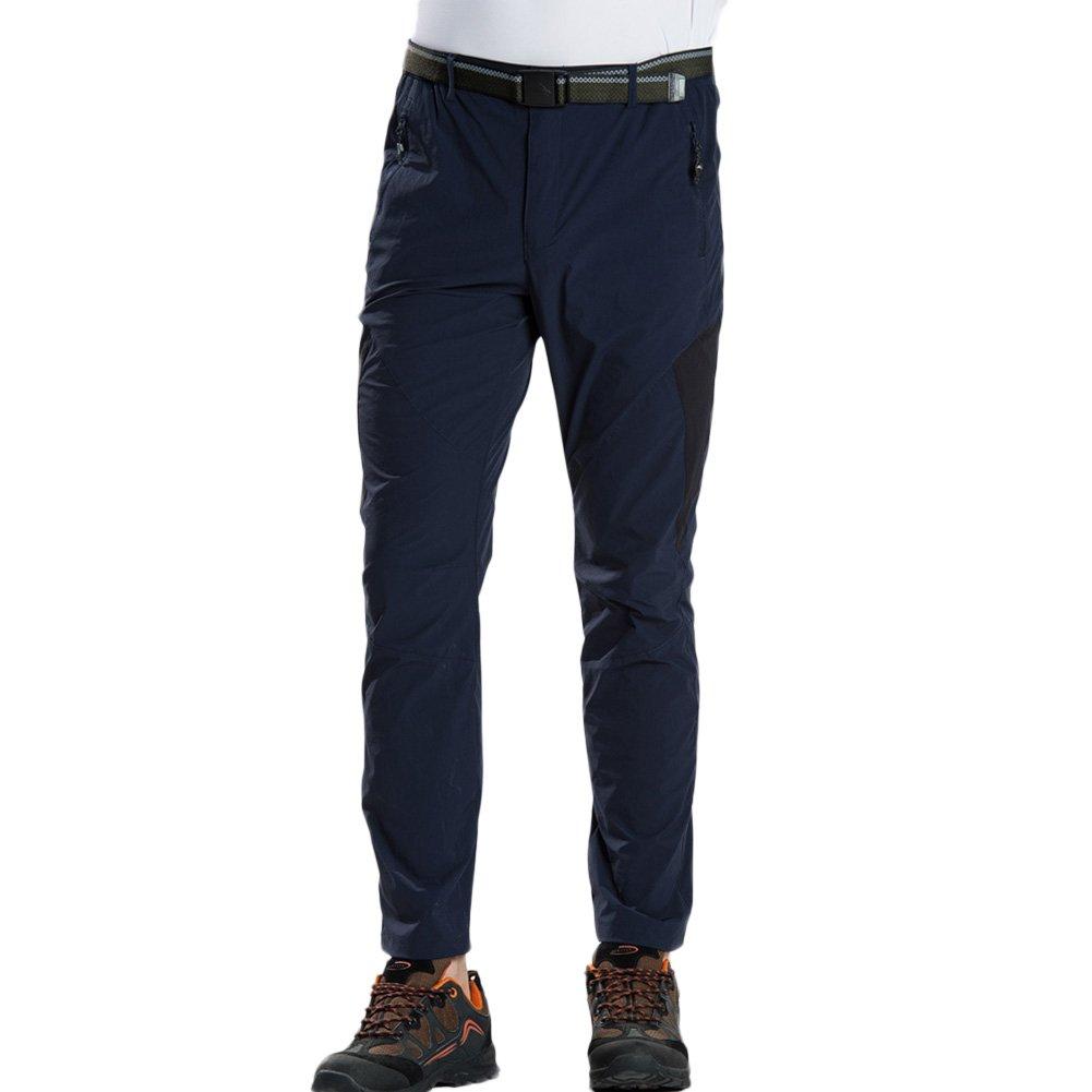 GITVIENAR Pantaloni Estivi allAria Aperta ad Asciugatura Rapida da Uomo Sottili Leggeri Pantaloni Sportivi Leggeri Pantaloni da Trekking Slim