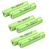 6x Masione 1.2v 1000mAh Cordless Home Phone Batteries For Panasonic HHR-65AAABU HHR-4DPA KX-TG9334