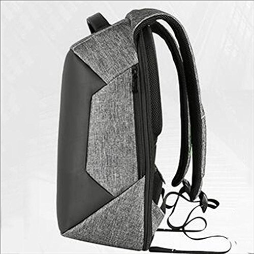 16 Laptop Rucksack Padded Laptopfach mit iPad / Tablet / eReader Pocket 27 Liter grey