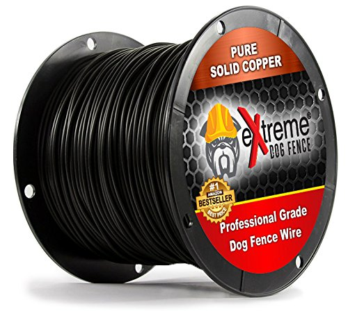 Professional Grade Super Duty Solid Core Electric Dog Fence Wire – Compatible With All Wired Electric Pet Fence Systems – 2000 Feet Review