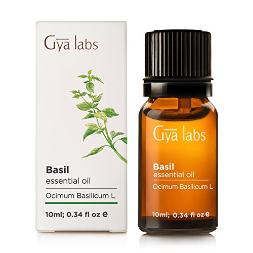Basil Essential Oil - 100% Pure Therapeutic Grade for Hair, Skin, Relaxation - 10ml