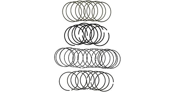 Hastings 2C4297 4-Cylinder Piston Ring Set