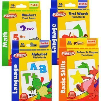 playskool-flash-cards-with-reward-stickers-4-sets-of-flash-cards-alphabet-numbers-colors-and-shapes-
