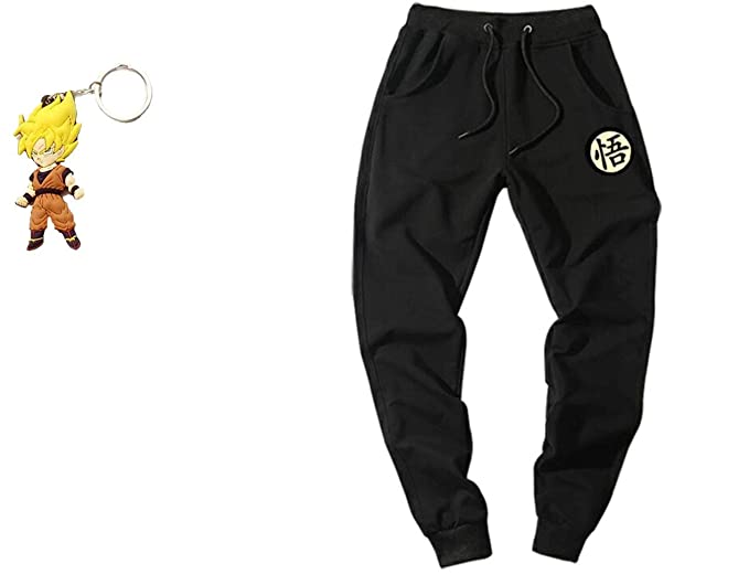 Amazon.com: Geek Gear Dragon Ball Z Hombres Joggers Kanji ...