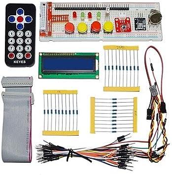 Module & Accessory para Arduino Kits, Keyes Partes electrónicas Pack para pi Frambuesa (Negro Control Remoto) para Arduino.: Amazon.es: Electrónica