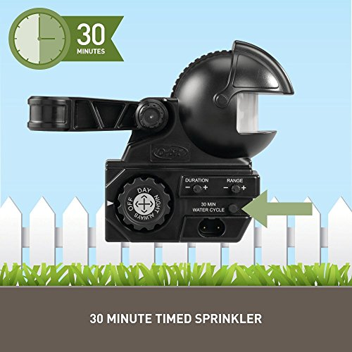 Orbit 62100 Yard Enforcer Motion Activated Sprinkler with Day and Night Detection Modes