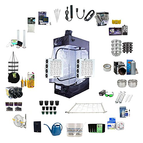 Black Dog LED 2.5 x 4.6 Indoor Grow Tent Kit Complete with
