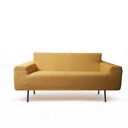 Stretch Slipcover del sofá,Sólido,Seguro Ajuste Amortiguador ...