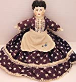 "Vintage / Antique China Doll with Original Period Clothing 13"" Tall"