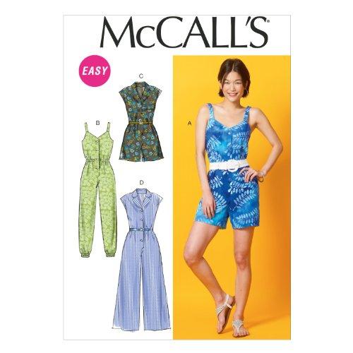 McCall Pattern Company Jumpsuits LRG XLG XXL
