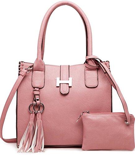 e8db452f6 LS Ladies Laptop Tote Bag Large Square Handbags with Adjustable Handle  Teacher Shopper Bags Candy Color