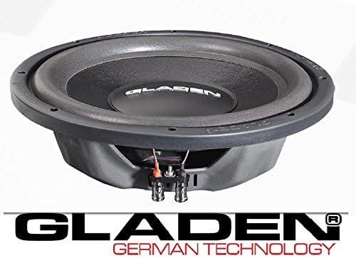 Gladen Rs X 12 Slim Subwoofer 30 Cm 600 Watt Elektronik