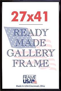 deluxe poster frame frames 27 x 41