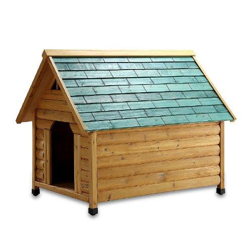 Pet Squeak Alpine Lodge Dog House, Medium by Pet Squeak