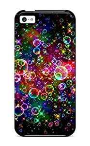 New Premium ZippyDoritEduard Colorful Bubbles Skin Case Cover Excellent Fitted For Iphone 5c