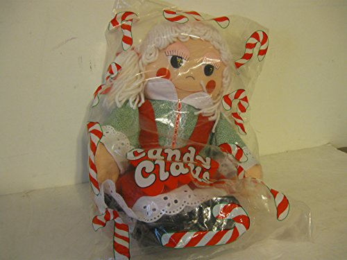 Avon, Plush stuffed Doll, Candy Claus, 18