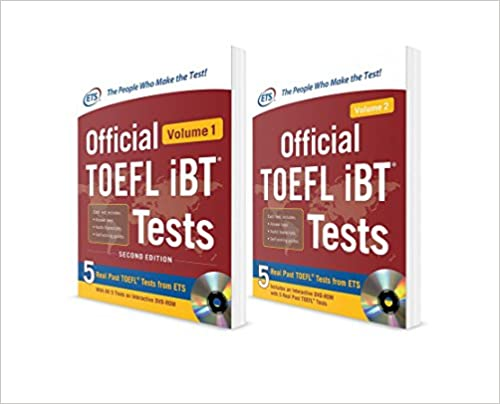 N/A Educational Testing Service - Official Toefl Ibt® Tests Savings Bundle