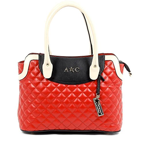 Red ONE SIZE Andrew Charles Womens Handbag Red - Wa Outlet Malls