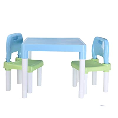 Lookvv Lookvv Children Kids Chair Set and Table (2 Chairs Included) Toddler Gift: Kitchen & Dining