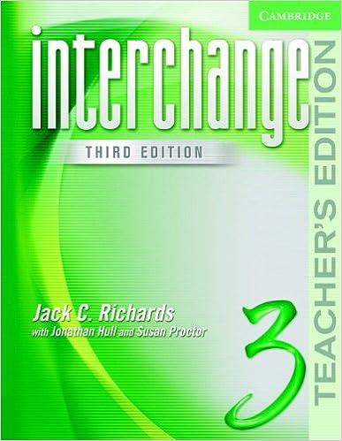 Interchange Third Edition Teacher Book Pdf