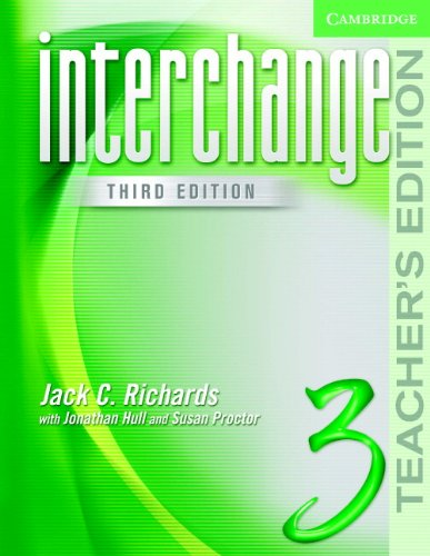 Interchange Teacher's Edition 3 (Interchange Third Edition S)