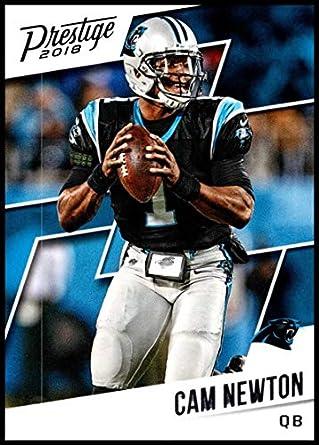 bb97e8063 2018 Prestige NFL  72 Cam Newton Carolina Panthers Panini Football Card