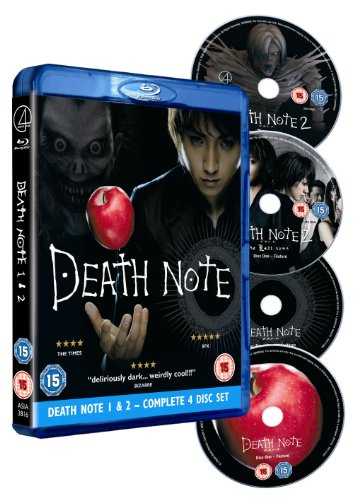 Death Note 1 & 2 [Blu-ray]