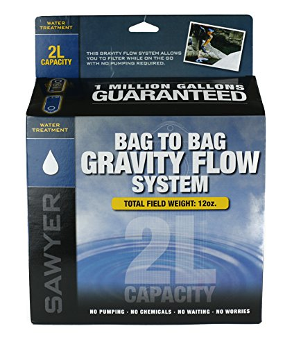 Sawyer Products 0.1 Micron Water Filtration System, 2 Liter