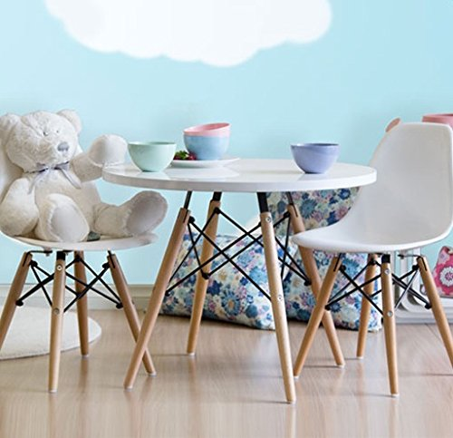 Peachy Smartmod Eames Style Modern Kids Dining Activity Table With Bralicious Painted Fabric Chair Ideas Braliciousco