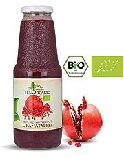 BenOrganic Bio Granatapfel Direktsaft, 12 x 1 Liter Bio Granatapfelsaft