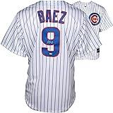 Javier Baez Chicago Cubs Autographed Majestic Replica White Jersey - Fanatics Authentic Certified - Autographed MLB Jerseys