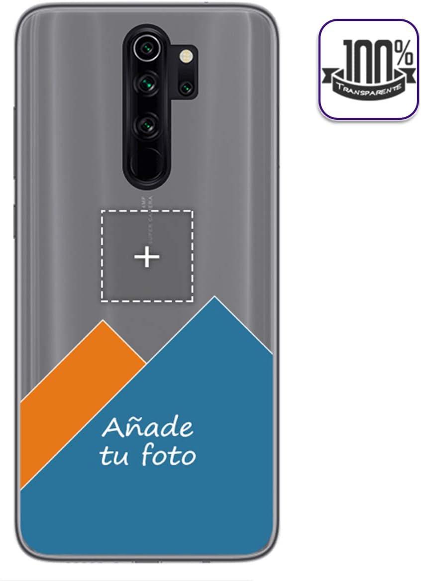 Personaliza tu Funda Gel 100% Transparente con tu Fotografia para Xiaomi Redmi Note 8 Pro Dibujo Personalizada
