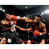 Mike Tyson 1986 Action Sports Photo (10 x 8)