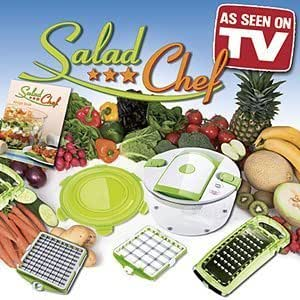 Salad Chef Genius Salad Chopper Kitchen Dining