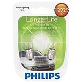 Philips 12929 LongerLife Miniature Bulb, 2 Pack