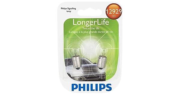 Philips 12929LLB2 12929 LongerLife Miniature Bulb 2 Pack
