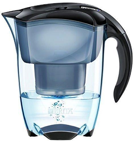 Brita 2,4 l  Elemaris Cool Premium Design-Wasserfilter  mit 1 Maxtra-Kartusche, schwarz