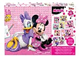 Disney Junior Minnie Mouse and Friends - 24 Piece - 8 Different Puzzle