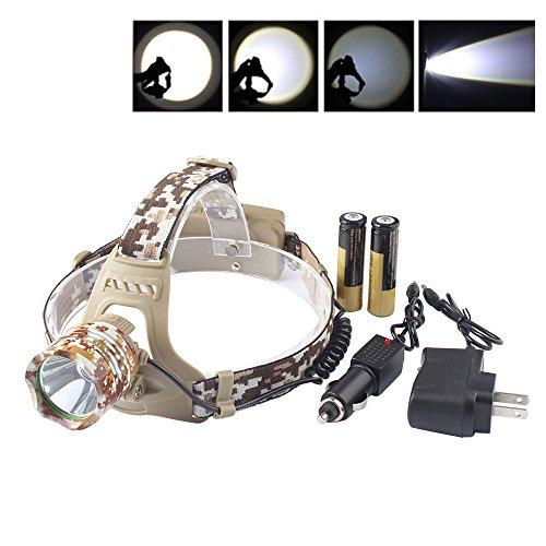 FidgetFidget Headlamp 18650 Headlight Lamp Light 3 Mode Head Switch 3000LM # XML T6 LED by FidgetFidget (Image #5)