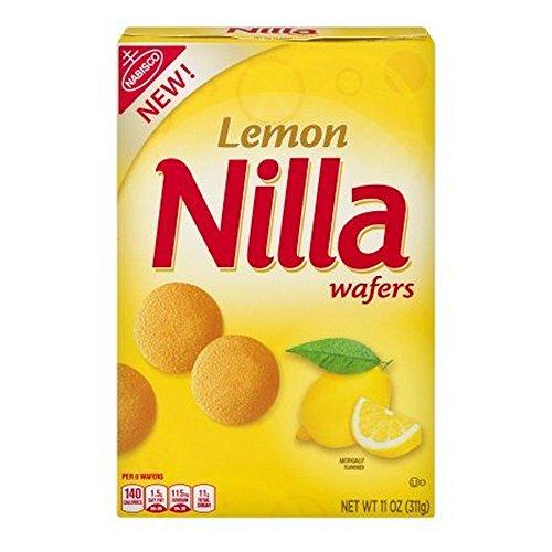 - Nilla Lemon Wafer Cookies, 11 oz