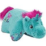 Pillow Pets Colorful, Teal Unicorn, 18'' Stuffed Animal Plush Toy
